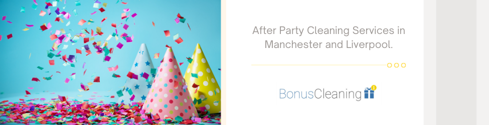after party cleaning manchester and liverpool